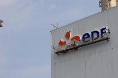 eDF logo podświetlane