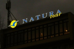 Natura Tout, logo 3D - Wisła 3