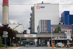Logo 3D na budynkach  eDF