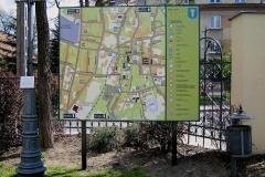 Tablica mapa Wieliczka