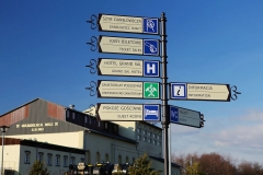 Wieliczka tabliczki kierunkowe