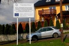 Pamiątkowa tablica projektu UE