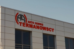 Excellent litery i logo 3D z PCV