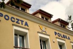 Logo Poczta Polska, 3D z pcv