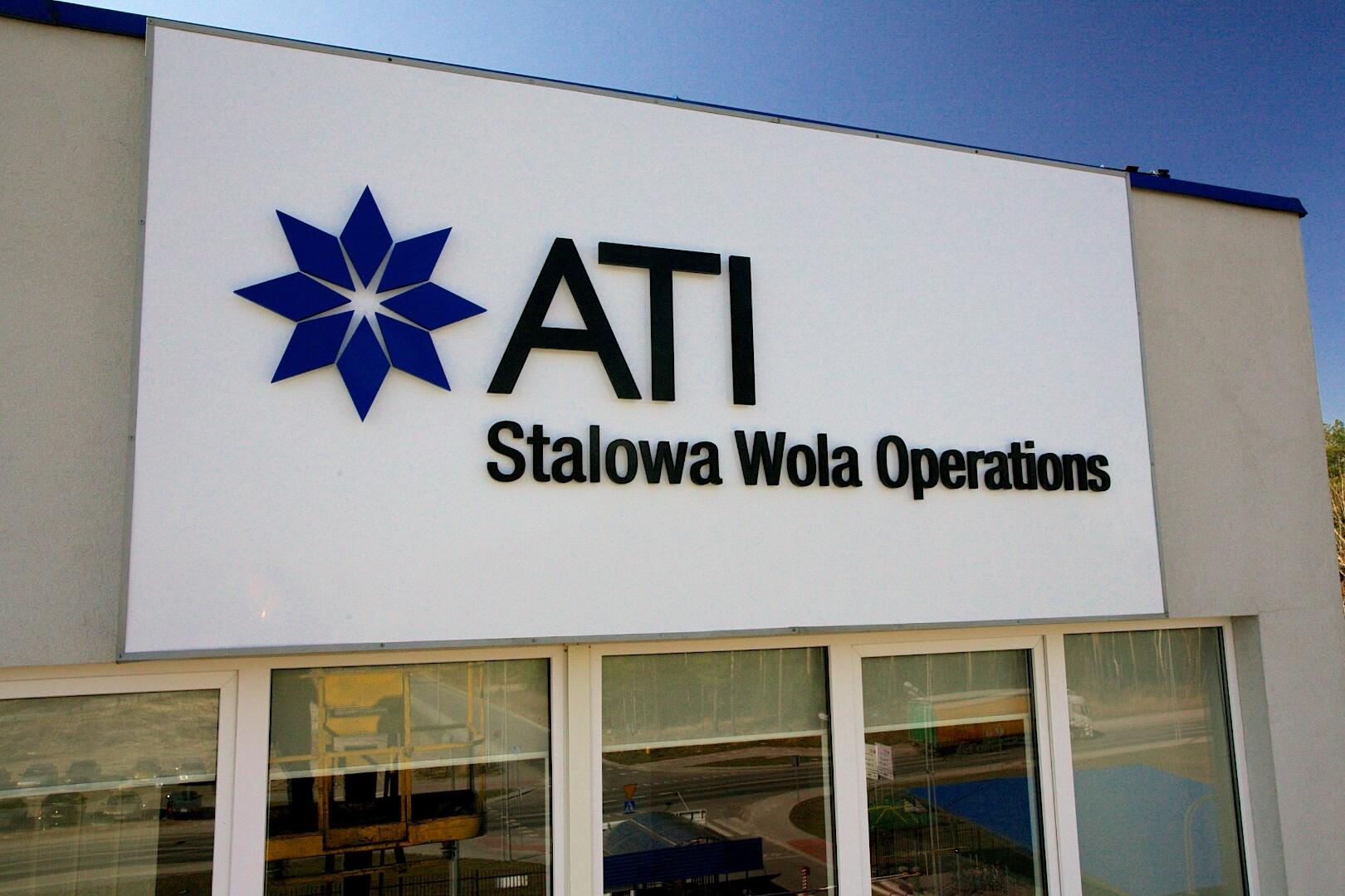 Oznakowanie obiektów ATI - Kuźnia w Stalowej Woli