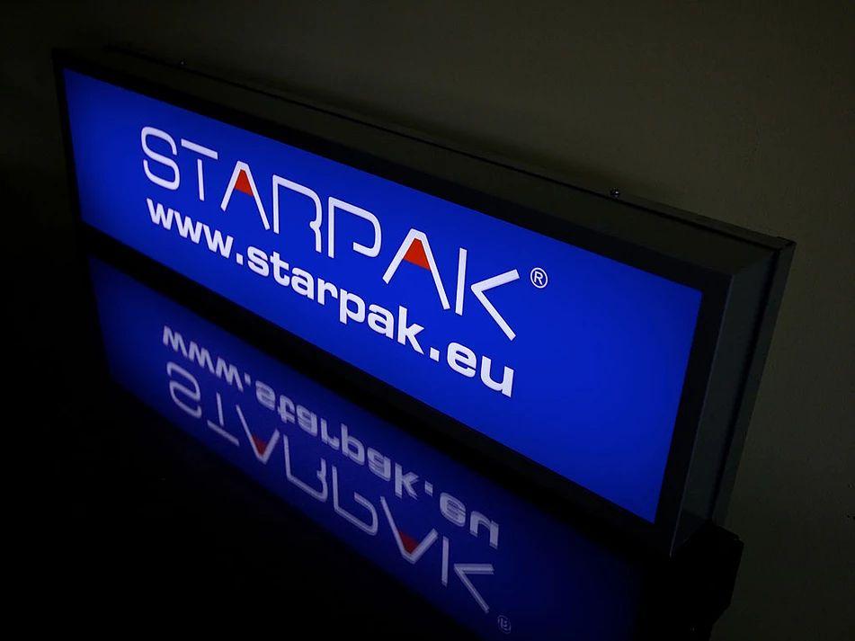 Toppery z logo STARPAK dla Euro-Trade