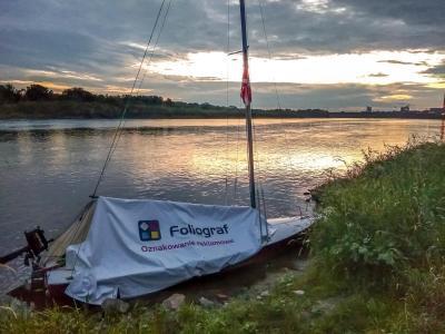Harcerski spływ rzeką San i Wisłą do Gdańska.